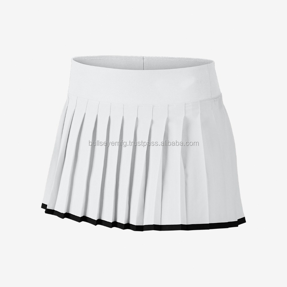LIGHTWEIGHT SUPPORTED WHITE SKIRT