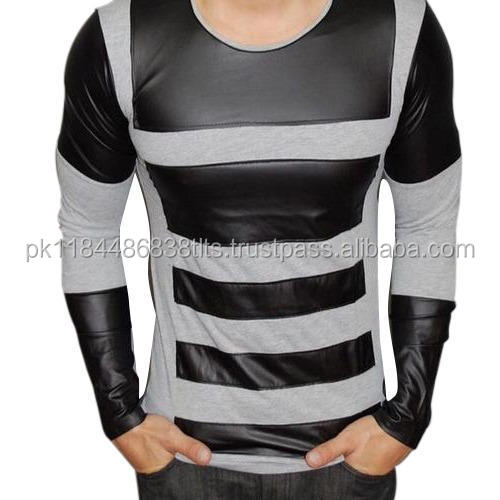 costume design full lather long sleeves high quality shirts