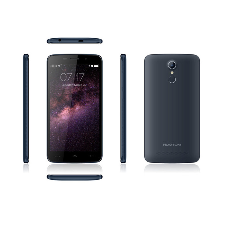 New Original HOMTOM HT17 Android 6.0 Quad Core Dual SIM Card 1GB RAM 8GB ROM Smartphone EU DHL Shipping