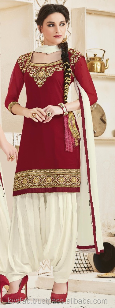 Salwar kameez designs with borders and new patiala suits-online shopping indian woman dress