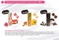 Sugar Free - Lolo Skinny Calo Cut Diet HCA Caramel , Made in KOREA