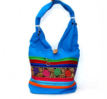 Indian Handmade Cotton Ethnic Rajasthan Embroidery Style Hippie Tote Wholesale Lot Bags