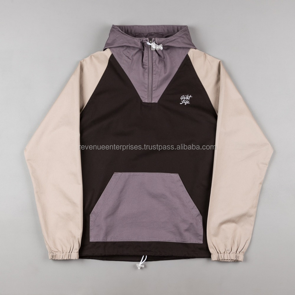 Windbreaker pullover jacket/High quality pullover breaker jacket