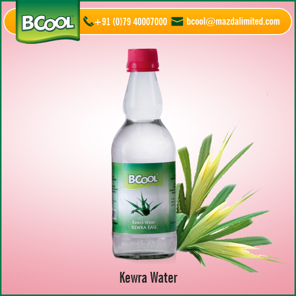 Pure Kewra Water Bottled for Easy Export at Low Price