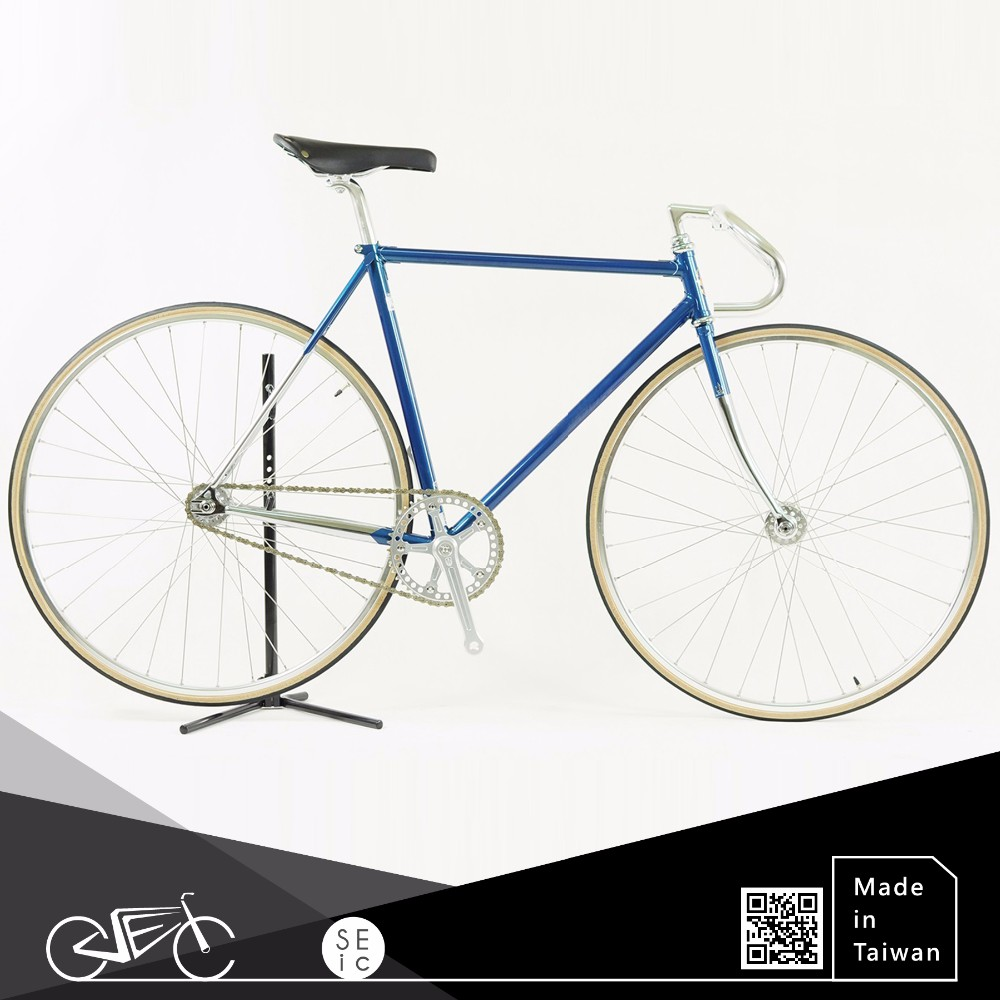 700C LUGGED Columbus Cromor color fixed gear bike