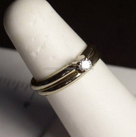 Hot Sale Black Diamond Ring At Bottom Price
