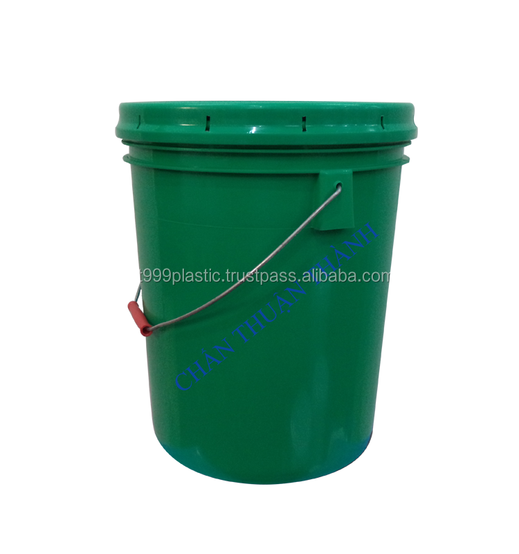 18L, 20L lubricant, oil, grease buckets, pails, containers