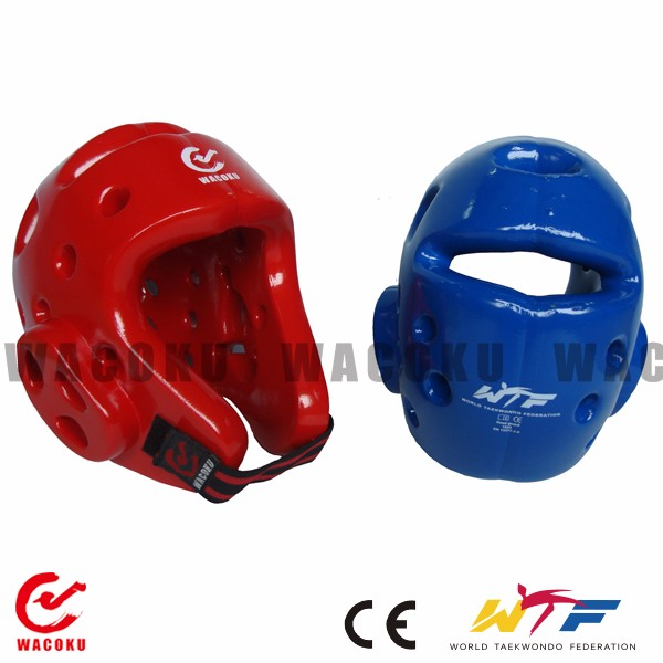 WTF approved taekwondo head guard/ Dipping foam head gear/ Martial arts head protection