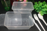 750ml disposable freezer microwave safe food container, 750ml disposable plastic rectangle food container Malaysia. CHEAP SALE !