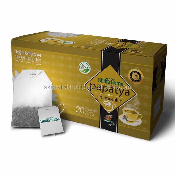 Chamomile Teabags Five Flower Tea eliminate gastric contractions health benefits camomile tea