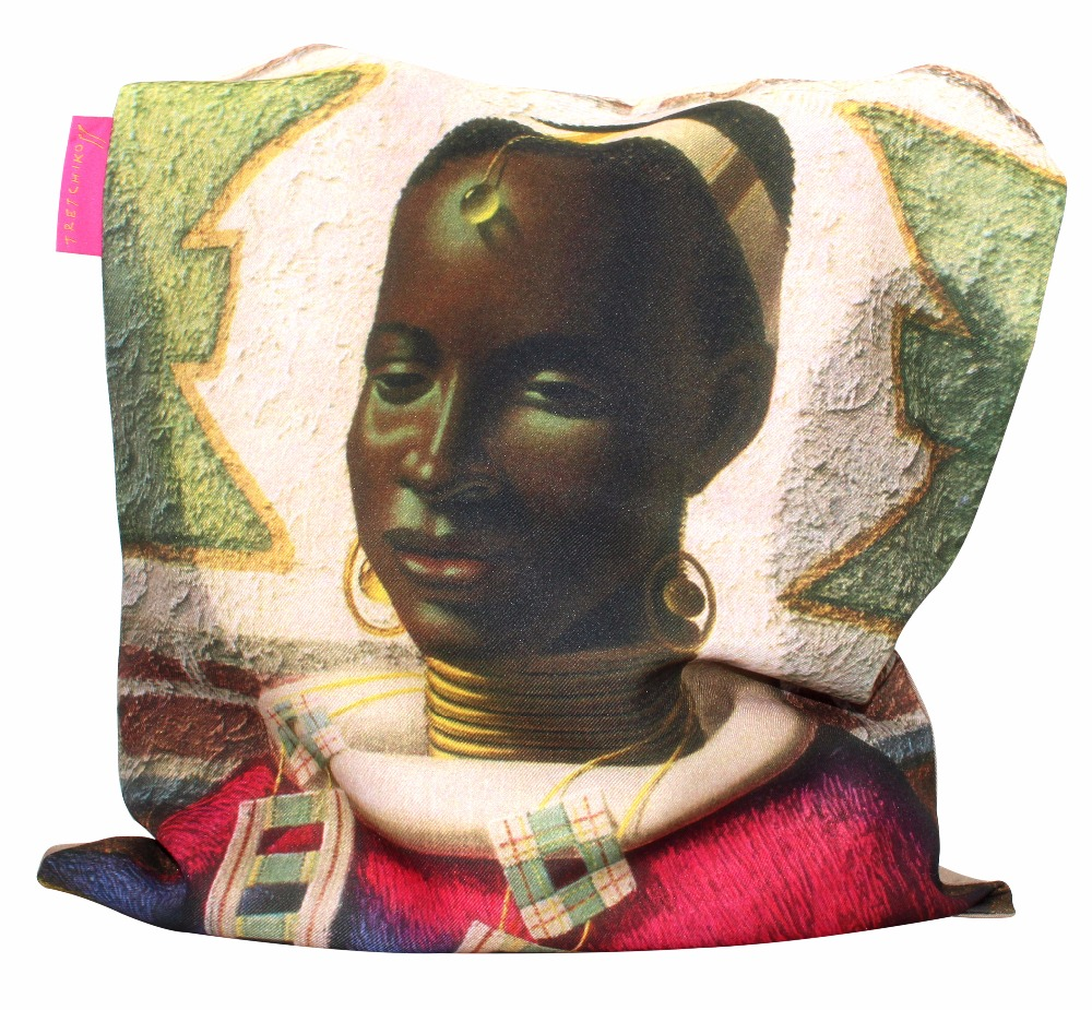 Tretchikoff Woman of Ndebele Tote Bag