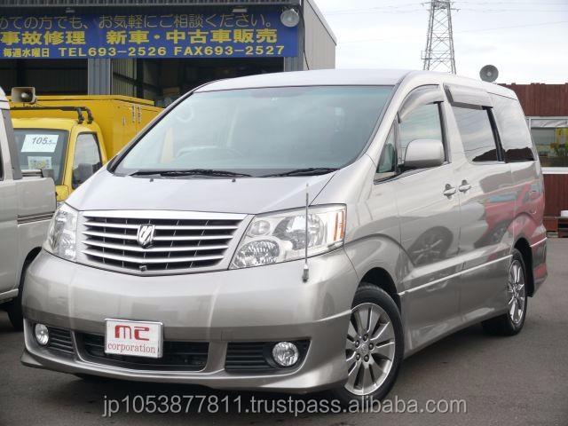 Popular and Good looking japan cars auction at reasonable prices ALPHARD MS premium 2005 used car