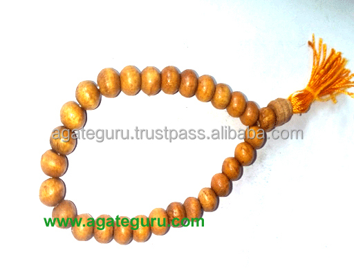 Wooden Beads Bracelet Mala Power Bracelet