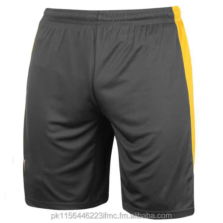 Gary with yellow fabric very comfirtable sports short for men