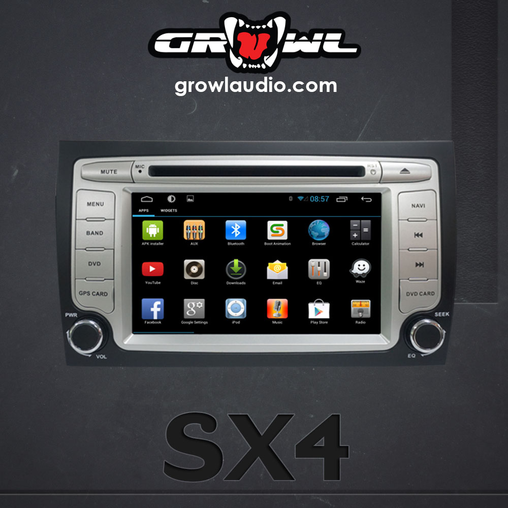 "OEM ANDROID HEAD UNIT 8"" CAPACITIVE TOUCH FIT FOR SUZUKI SX4"
