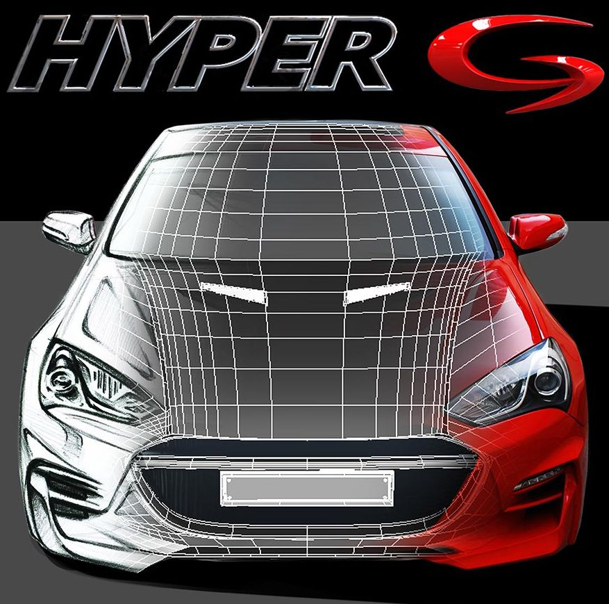 M&S FULL BODY KIT B-TYPE FOR HYNDAI GENESIS COUPE 2013-16 MNR