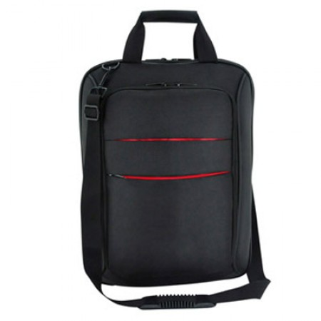 Duo Tone Lined Convertible Laptop Bag