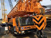 cheap price used XCMG truck crane mobile crane QY130K in china 130T for sale