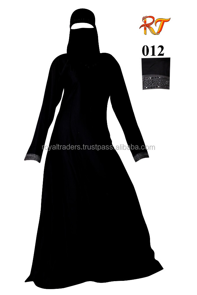 Fashion manufacture abaya hand design