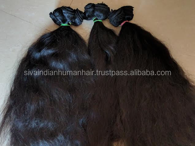 Virgin Human Hair Vendor Best Quality Indian Virgin Hair Weave Machine Made Weft Cuticle Intact Fast Shipping
