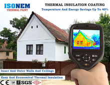ISONEM THERMAL PAINT (HEAT INSULATION, WATERPROOFING, SOUND INSULATION, FIREPROOF)