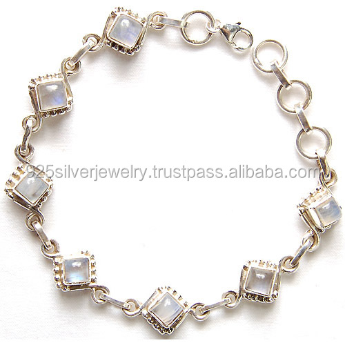 Wholesale silver jewellery with semi precious gemstones silver fashion jewellery