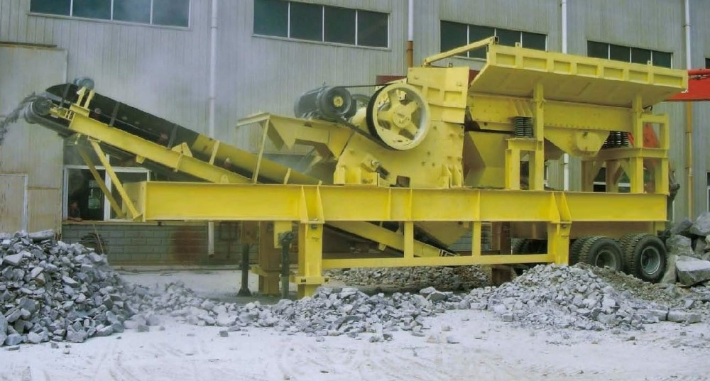 70-120 TPH Primary Crusher