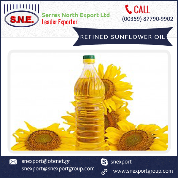 Cost Effective Refined Sunflower Oil from Popular Exporter