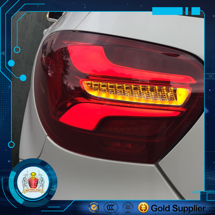 Facelift LED Tail Lights For Mercedes Benz W176 A Class
