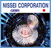 Easy to operate and Accurate cylindrical Nissei gear for various needs