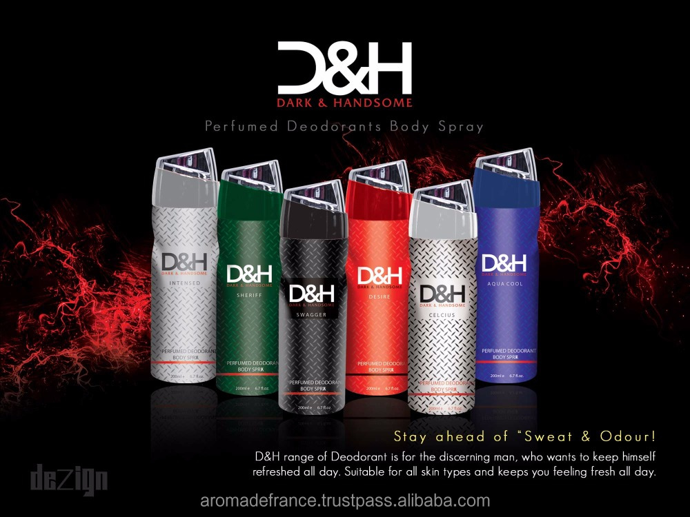D&H Deodorant Body Spray