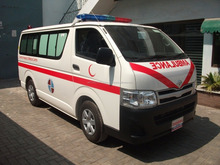TOYOTA HIACE STANDARD ROOF WITH ADVANCE AMBULANCE PACKAGE