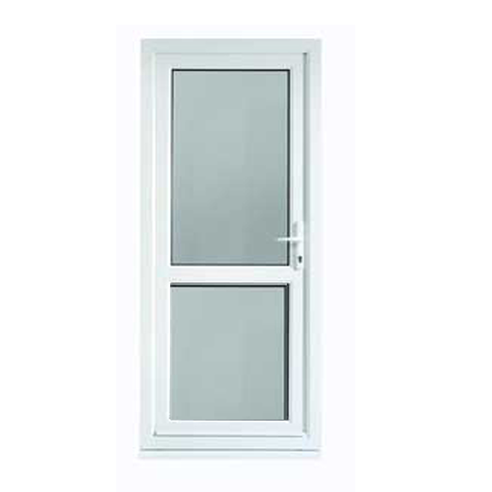 Indian Manufacturer Polywood White Sound proof Openable UPVC Doors