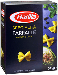 Barilla Pasta in all formats