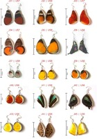 Wholesale/Pieces - Hand Made Butterfly Earings (Real Butterfly Wings)