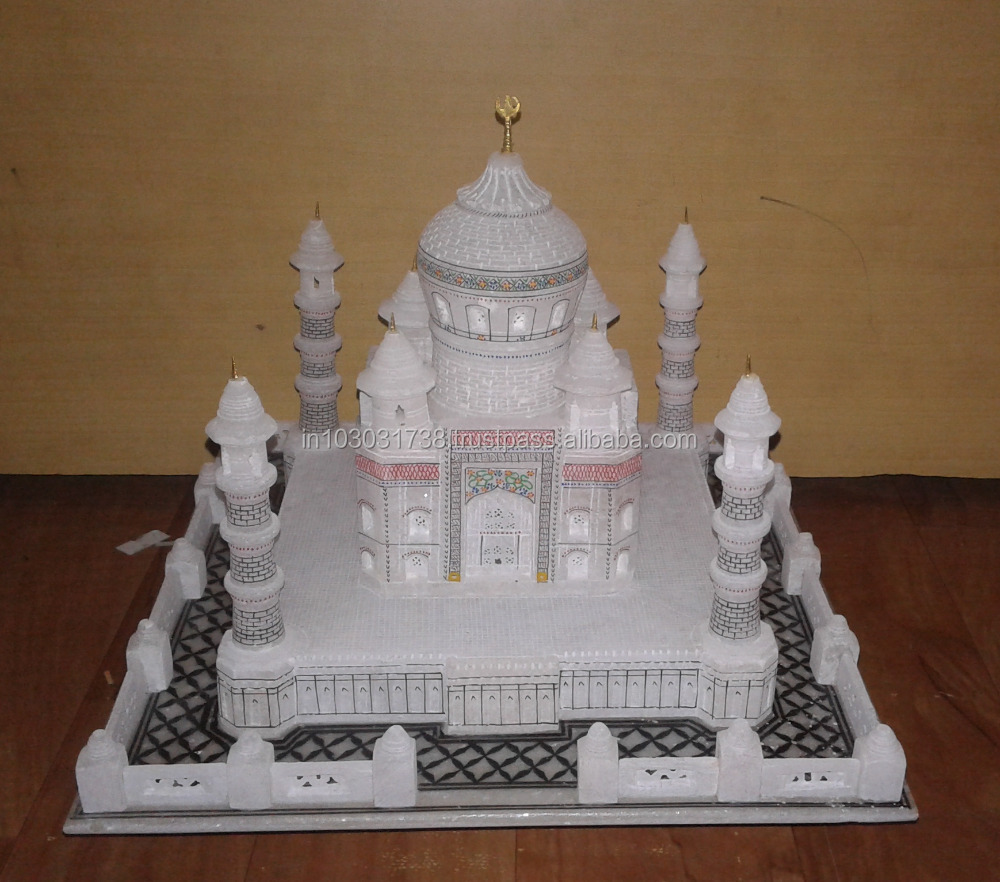 Taj Mahal Indian Collectible Marble Souvenir,Marble Taj Mahal Souvenir, Taj Mahal Wholesale Trader