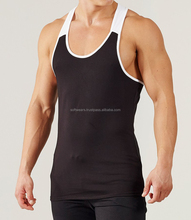 100% Cotton Slim Fitted Cheap Price Mens Custom Gym Tank Top