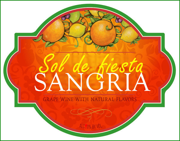 Sangria- Glass 1,5 liters