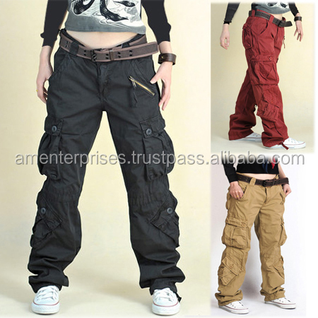 Cargo Pants-2016 men's cargo New Fashion casual Tailored Pants Formal Uniform trousers with logo printing