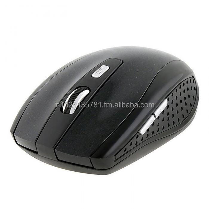 NOBILITY WIRELESS MOUSE 2.4GHZ NOBC001 BLACK WITH BATTARY