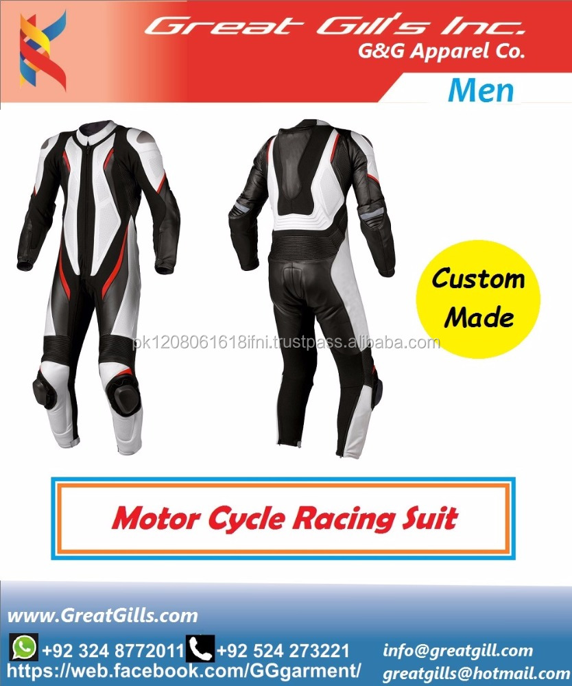 one / two piece motorcycle leather suit/motorbike racing suit