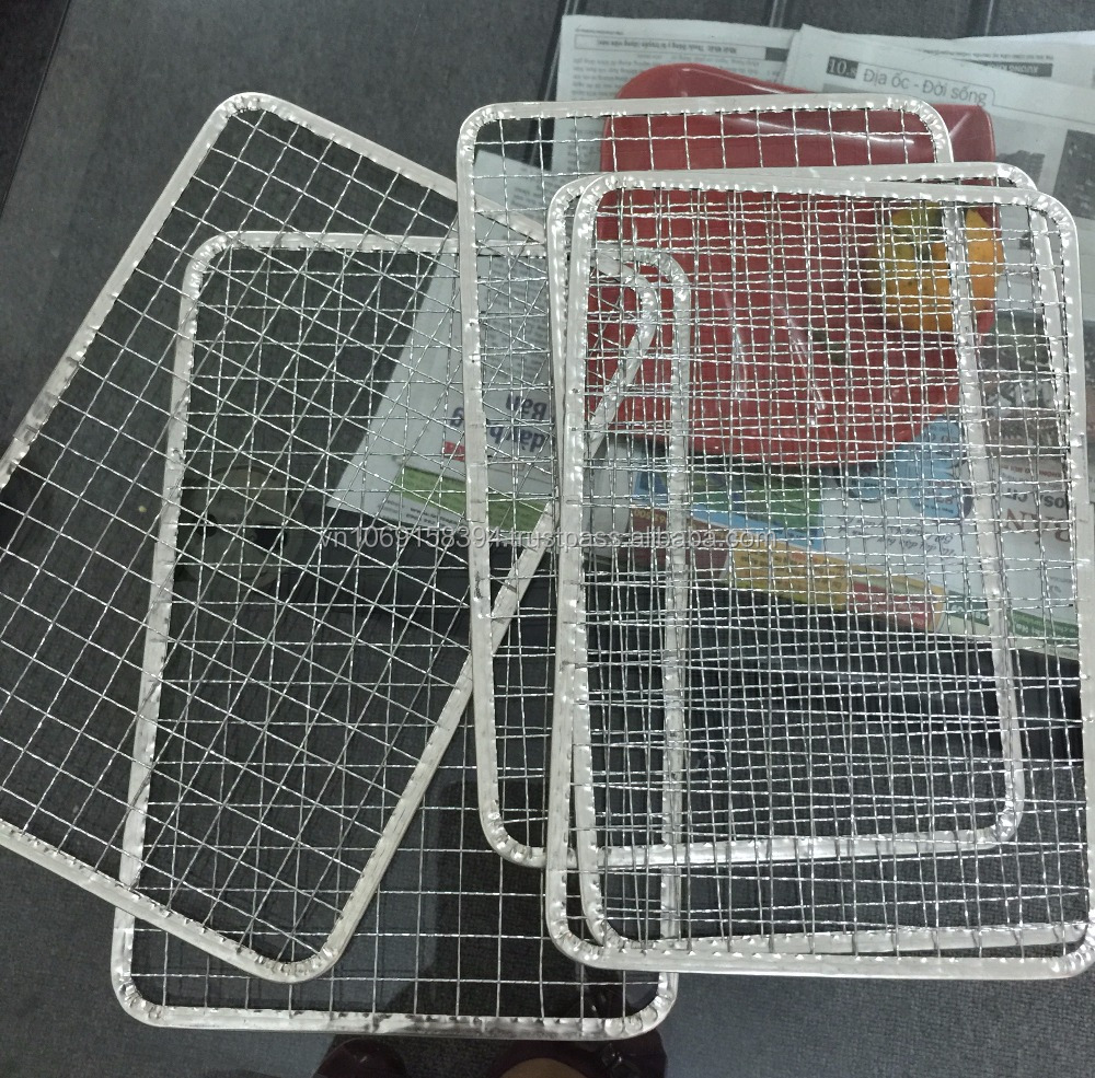 Japanese Disposable BBQ Wire Mesh