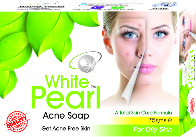 White Pearl Acne Soap