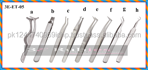 Volume Eyelash Extension Tweezers/ Russian Volume Extensions/High Precision Professional Series Long