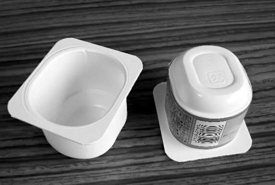 幼儿园酸奶盒手工花盆