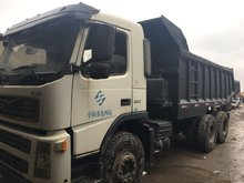 6*4 used heavy volvo dump truck with 10 tyres
