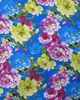 Allover Printed Factory Fabric Big Flowers
