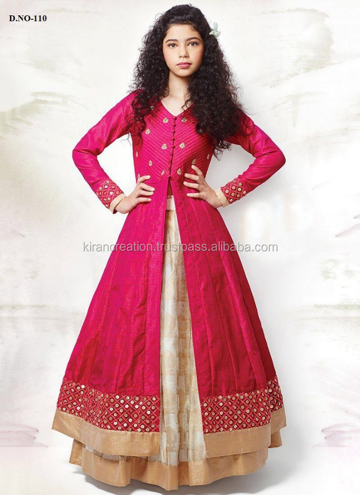 Indian Girls Ready Made Salwar Kids Patiyala Salwars Wholesalers of Kids Dresses Bollywood Girls Collections