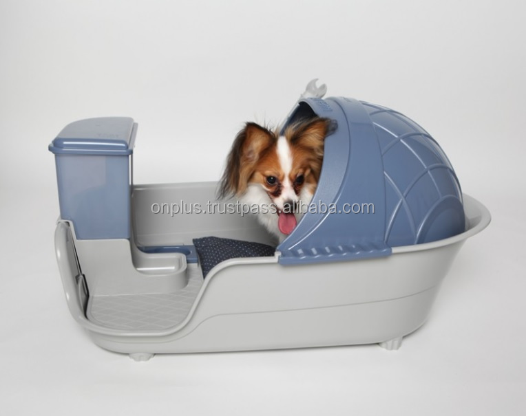 Multi - Purpose Pet Dog House / Shower Tub / Potty Tray / Music Bed