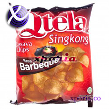 QTELA Sweet Potato Chips BBQ 185gr | Indonesia Origin